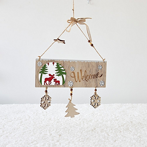 Christmas Tree Pendant Hanging Home Ornament Christmas Decoration Wannag