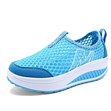 New Women Flats Shoes Fashion Casual Summer Shoes Female Zapato Casual Breathable  Mesh Footwear Shoes For 35efb7fbda10