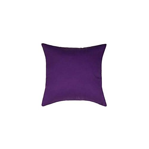 Plain Purple Throw Pillow