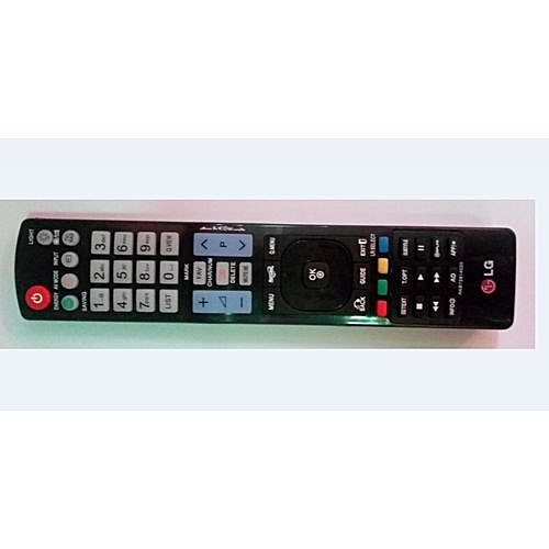 TV Replaceable Remote Control - BLACK