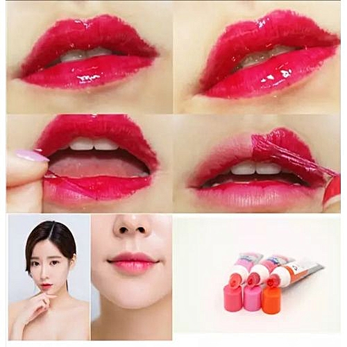 Romantic May Waterproof Women Lady Peel-off Lip Gloss Lipstick ...