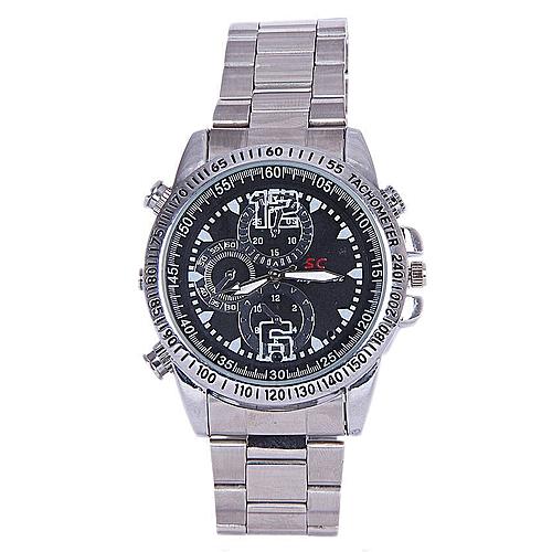 32GB Waterproof Hidden Camera Wrist Watch
