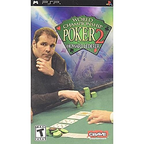 Crave Entertainment World Championship Poker 2 With Howard Lederer - Sony psp