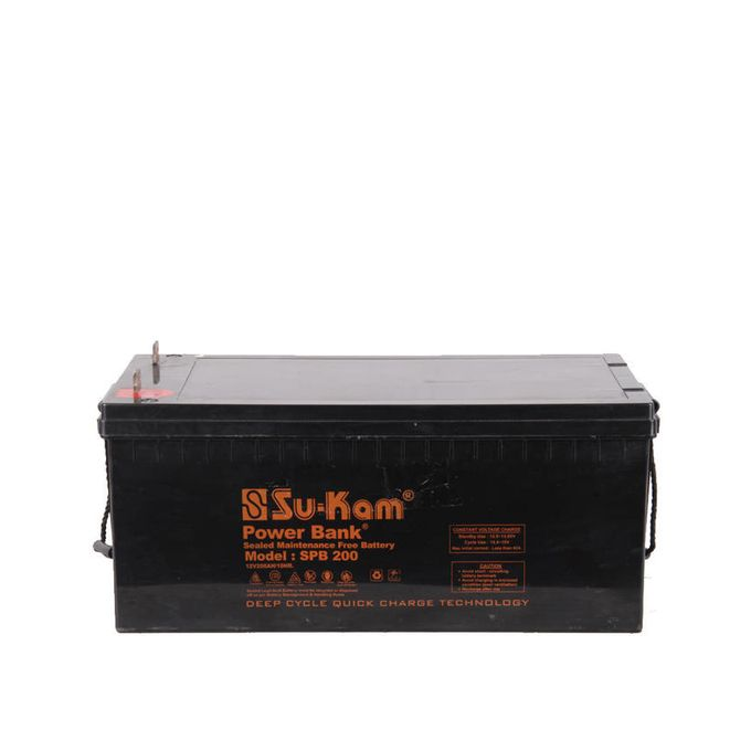 12V/200Ah SMF Battery FOR INVERTOR