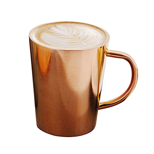 Stainless Steel Double-temperature High-temperature Milk Cup Coffee Cup Creative Cup Insulation Hot And Cold Household Items- 320 Ml