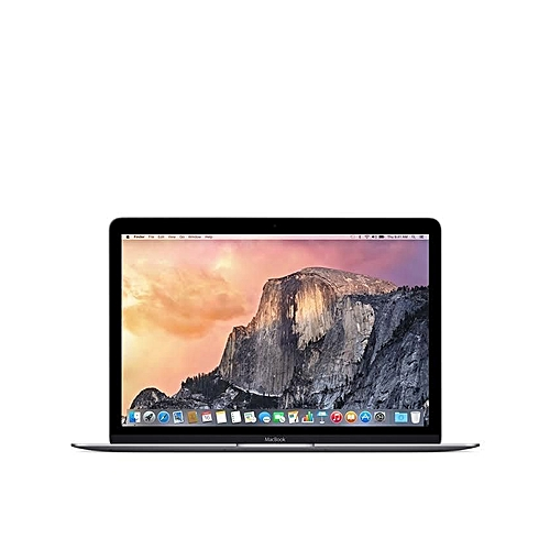 MacBook Intel Core M3 1.1 GHz Dual Core (256GB,8GB) 12-Inch Laptop - Space Grey