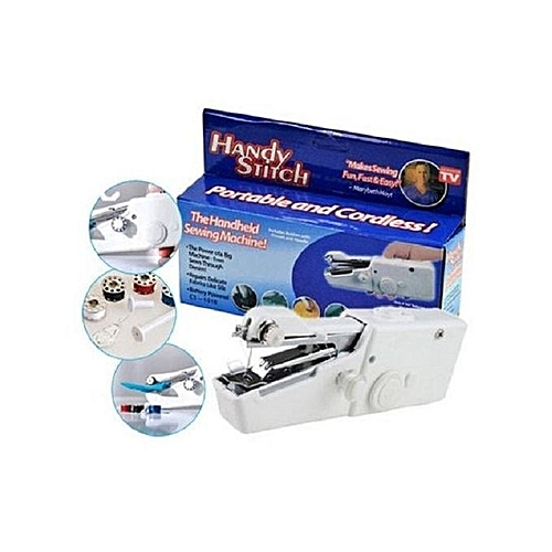 Handy Stitch NEW UNIQUE Portable Hand Held Sewing Machine With New Portable Hand Sewing Machine