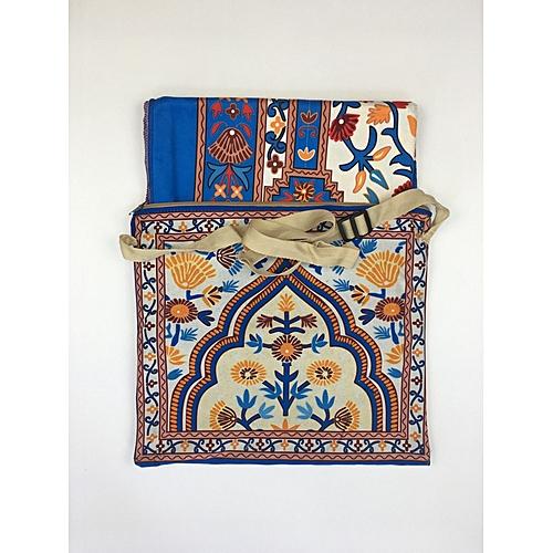 Muslim Prayer Mat With Bag For Travel Bag Prayer Mat ,Islam Prayer Rug With Bag Sets HGP-010 3D Print