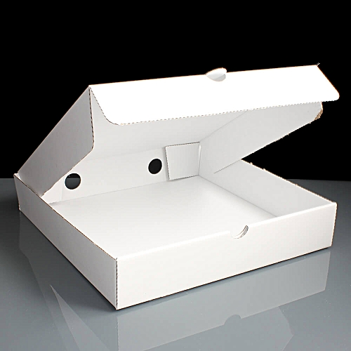 PIZZA BOX WHITE UNPRINTED 7'' 50 UNITS