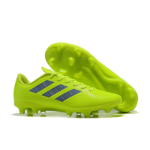 a9f897338174 Fashion Explosions In 2019 Ready Stock Adis Messi 18.4 FG Studded Soccer  Shoes Nemeziz Messi Tango Football Shoes Sneakers Male--Yellow