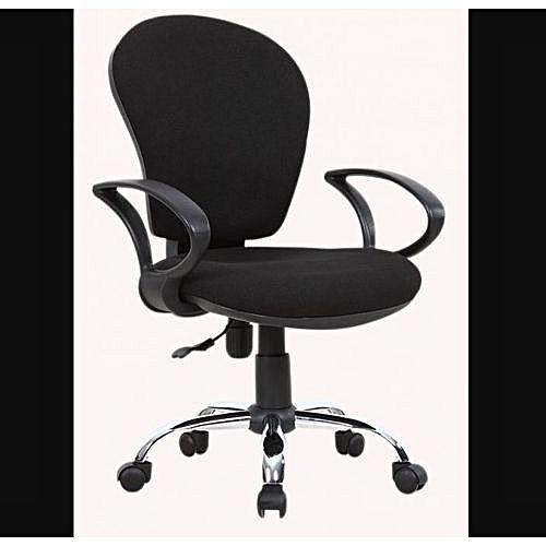 Secretary Swivel Office Chair
