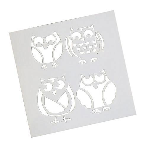 Owl Style Decorative Cake Mold - White