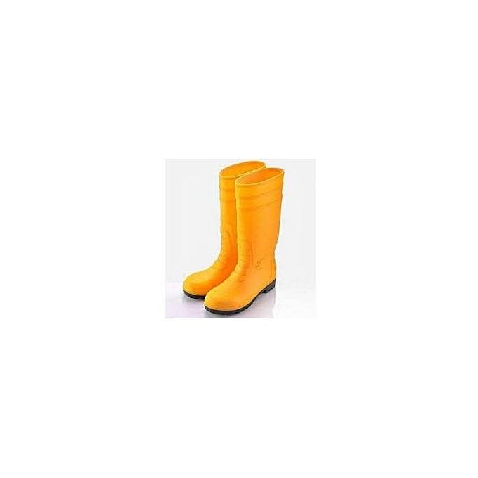 37cc72811089 Rocklander ROCKLANDER PVC Rubber SAFETY Rainboot WITH METAL TOES ...
