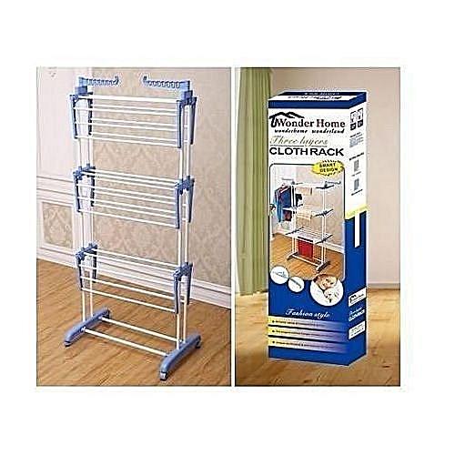Three(3) Layer Cloth Rack Laundry Home