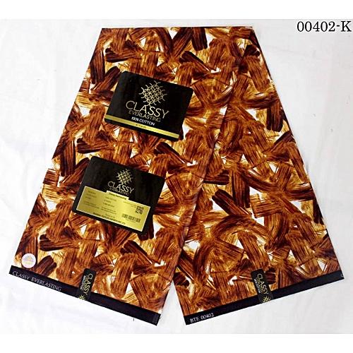 Ankara Fabric Material - 6 Yards