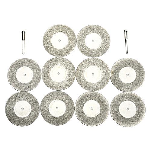 Lienine_20mm Mini Diamond Saw Blade Cutting Discs Shank Dremel Drill Fit Rotary Tool