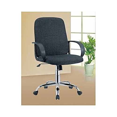 Fabric Revolving Office Chair