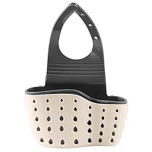 Eleganya Kitchen Practical Hanging-type Hollow Adjustable Drain Storage Basket