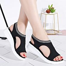 207b74e3bfb EUR Size 35-41 New Summer Women Sandals Wedge Heels Open Toe Fish Head  Platform