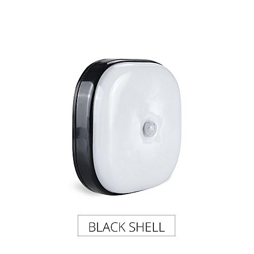 PIR Motion Sensor LED Under Cabinet Light AAA Battery Powered Cordless Night Lamp Stairs Corridor Lighting Warm/Cold White