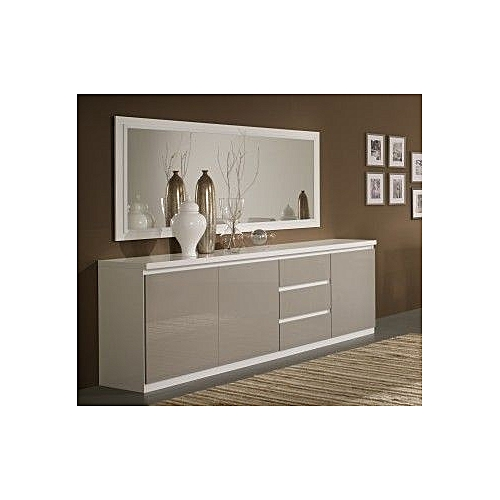 Dining Side Console - White