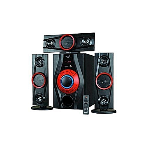Powerful Home Theater With Bluetooth