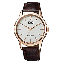 Gents Smart Casual Leather Strap Watch - Q860J111Y 65a86084b9