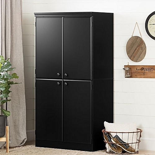 Lily's Storage Cabinet- Black (LAGOS DELIVERY ONLY)