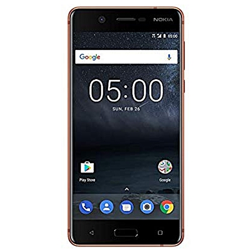 "Nokia 5 - Android 8.0 (Oreo) - 16 GB - 13MP Camera - Single SIM Used Smartphone (at&T/T-Mobile/MetroPCS/Cricket/H2O) - 5.2"" Screen - Copper"