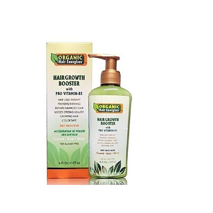 Organic Hair Energizer HAIR BOOSTER With PRO VITAMIN-B5