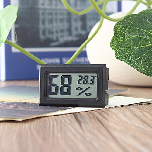 Boblov LCD Digital Thermometer Hygrometer Humidity Temperature Meter Indoor Home