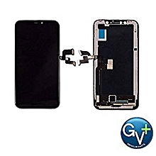 IPHONE X REPLACEMENT SCREEN BLACK FRONT