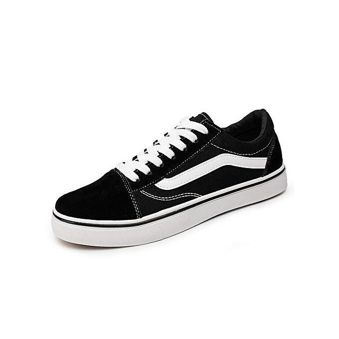 Vans Shoes Sneaker Men's And Board Shoe Black Women's Canvas XTiPlZuwOk