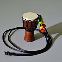 Women African Drum Pendant Tambourine Necklace Special Solid Od Sheepskin for sale  Nigeria