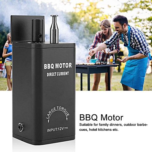 12V DC BBQ Motor Barbecue Grill Rotisserie Electric Motor High Speed