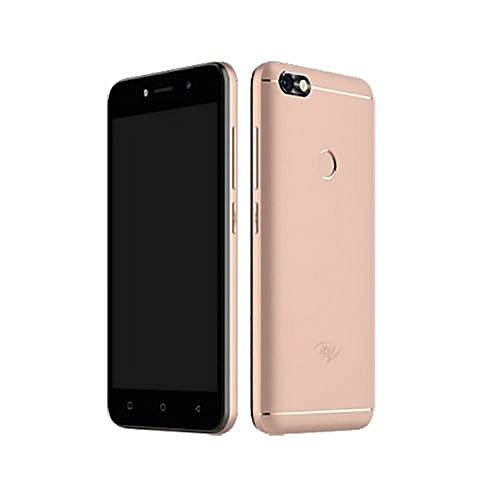 A32F 5-Inch (1GB RAM, 8GB ROM) Android 8 1 Oreo, 5MP + 2MP Front Flash,  Fingerprint Enabled Dual SIM 3G Smartphone + Free Case - Rose Gold