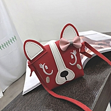 de9b76f7a74 Popular Children Cute Animal Bowknotl Leather Handbag Shoulder Bag Mini  Crossbody Bag