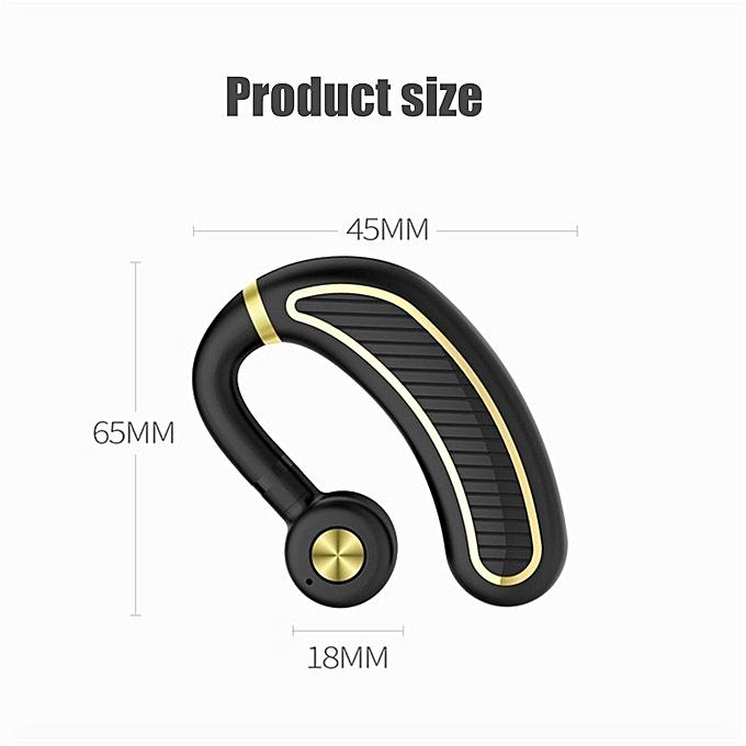 238cd794df2 ... Bluetooth Headset,Wireless Bluetooth 4.1 Business Headphone Earphone  300mAh Super Long Standby Earpiece With Mic ...