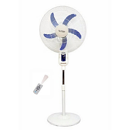 RECHARGEABLE STANDING FAN 16 INCHES WITH USB