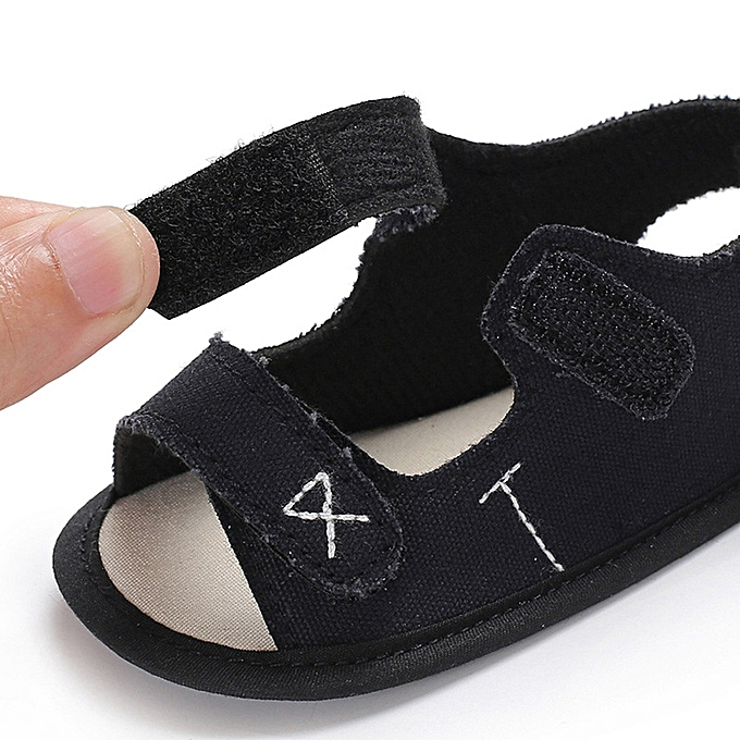 2817dd8f51382 ... Fantynes Kids Baby Shoes Infant Toddler Newborn Baby Boys Girls Embroidery  Soft Sole Anti-slip- ...