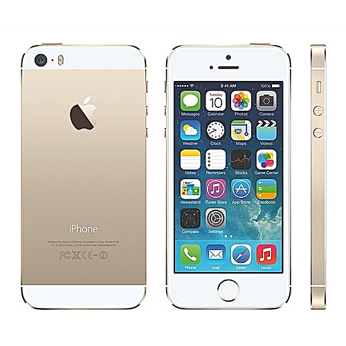 IPhone 5S 16GB With Finger Sensor 4G LTE (Gift) Gold