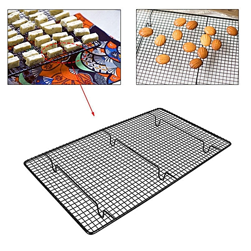 Non-stick Sturdy Large Wire Cooling Tray Cakes Cookies Baking Cooling Wire Rack