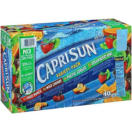 Universal Nutrition Capri Sun Variety Pack (6 Fl. Oz)