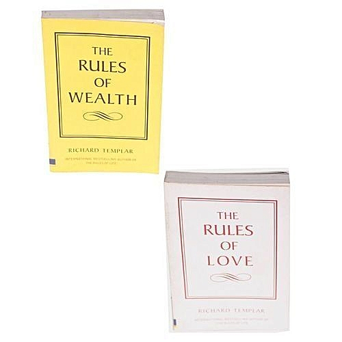 The Rules Of Wealth & The Rules Of Love Richard Templar