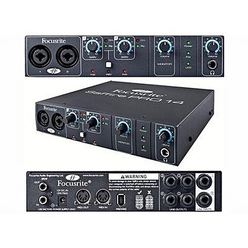 Focusrite - Saffire Pro 14 Firewire Audio Interface