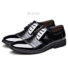 b343ef401 Men  039 s Formal Lace-up PU Shoes - Black (+ 1