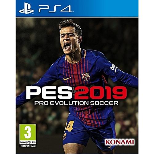 PlayStation 4 Pro Evolution Soccer 2019 - PES 19