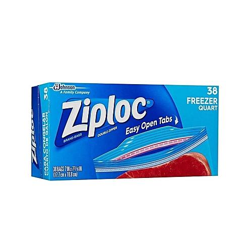 Freezer Gallons Bags 1qt 38 Count