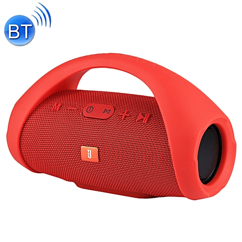 BOOMS BOX MINI E10 Splash-proof Portable Bluetooth V3.0 Stereo Speaker With Handle, Built-in MIC, Support TF Card & AUX IN, Bluetooth Distance: 10m(Red)