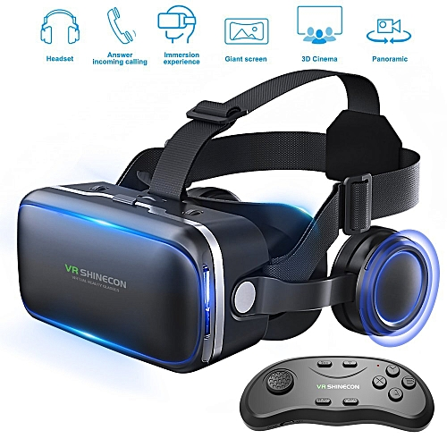 dcba4c3943e3 Betolye VR Headset - 3D Glasses Goggles With Remote Controller. By Betolye